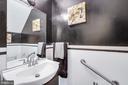 Main level 1/2 bath - 14337 MARLBOROUGH LN, UPPER MARLBORO