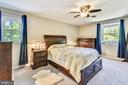 Master Bedroom with Walk-In Closet - 123 LAKE DR, STERLING