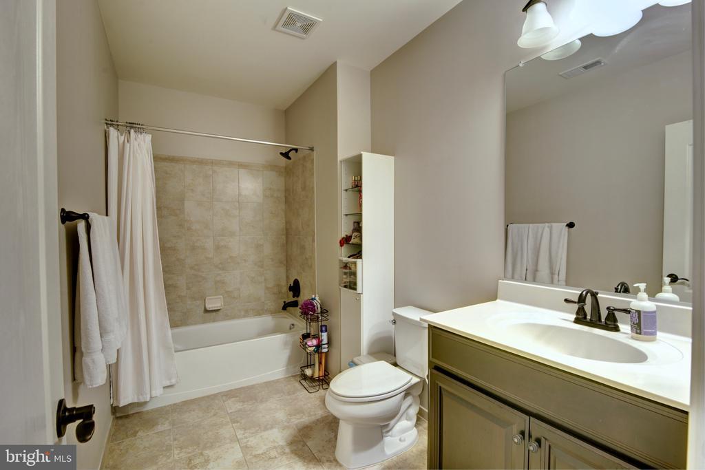 Full Bathroom in the Basement - 42602 STRATFORD LANDING DR, BRAMBLETON