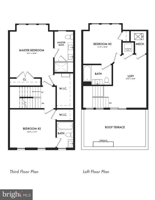 Third and fourth level - 1526 16TH CT N, ARLINGTON