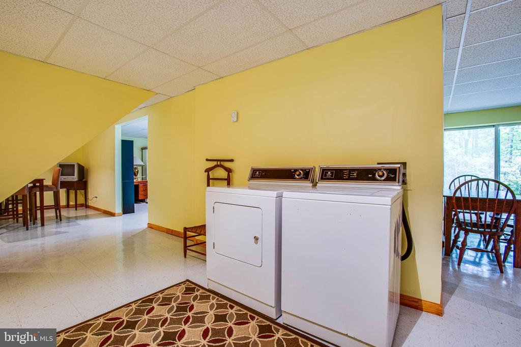 Basement Laundry - 22 PAWNEE DR, FREDERICKSBURG
