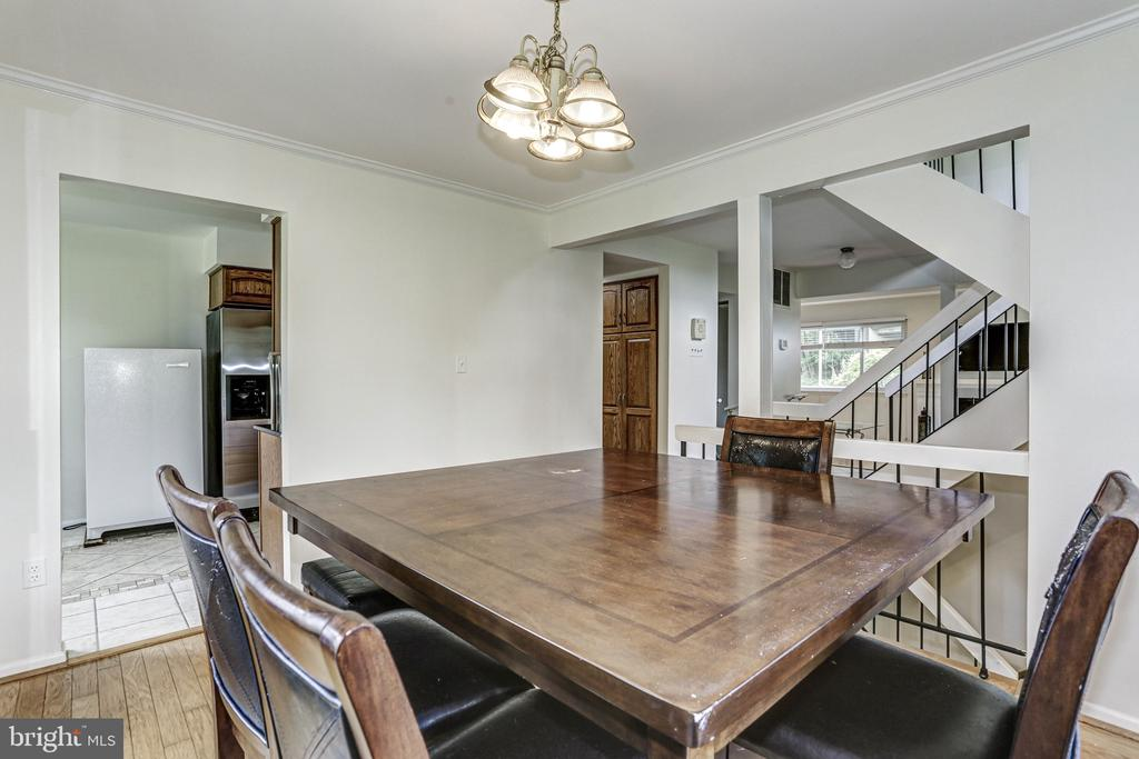 Dining Room - 18400 STONE HOLLOW DR, GERMANTOWN
