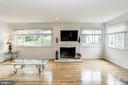 Fireplace - 18400 STONE HOLLOW DR, GERMANTOWN