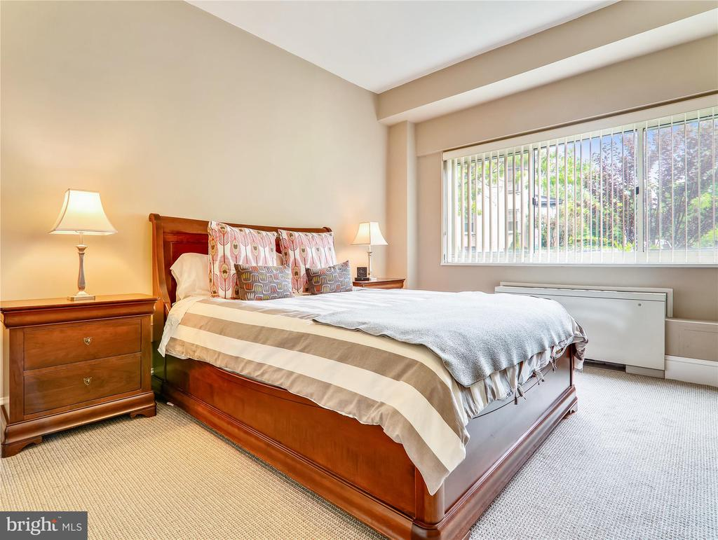 Spacious Master Bedroom - 5315 CONNECTICUT AVE NW #108, WASHINGTON