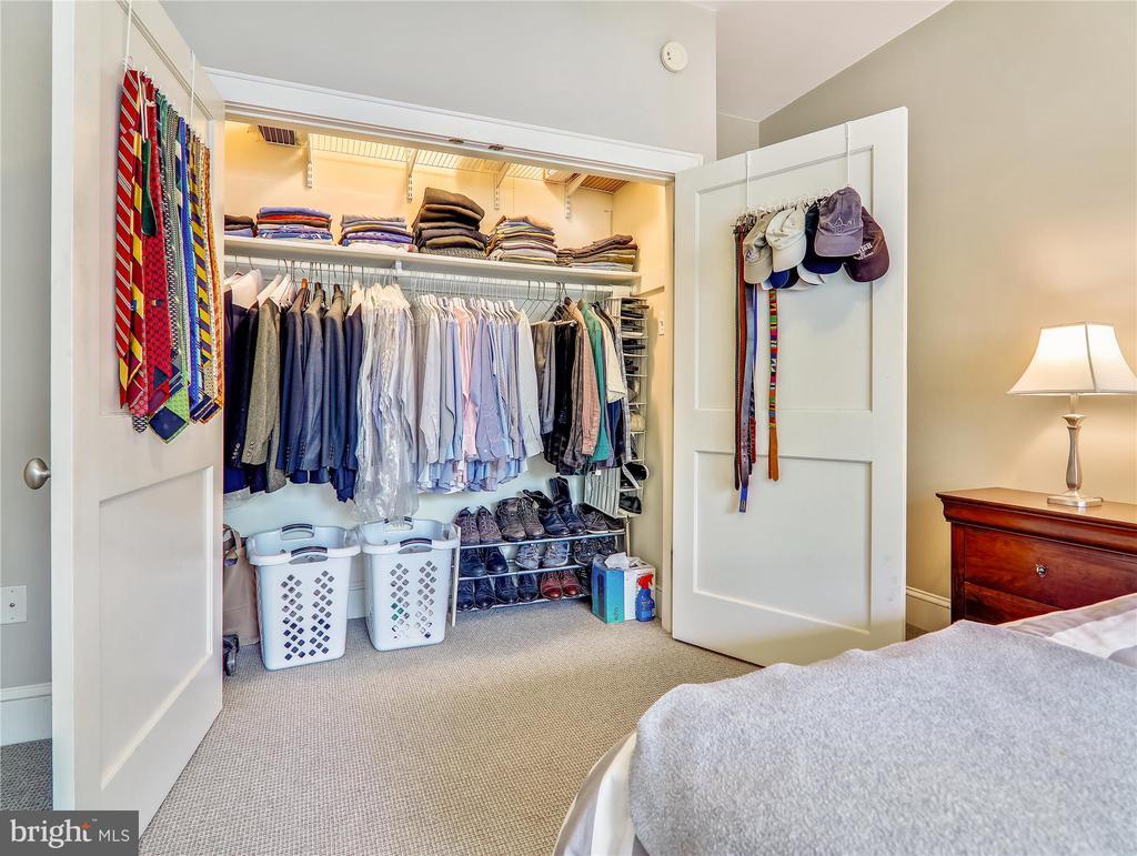 Large lighted Master closet - 5315 CONNECTICUT AVE NW #108, WASHINGTON