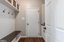 Mud room to garage - shiplap lockers and drop zone - 259 HEFLIN RD, STAFFORD