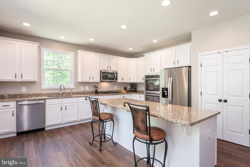Spacious kitchen with large island & TWO pantries - 259 HEFLIN RD, STAFFORD