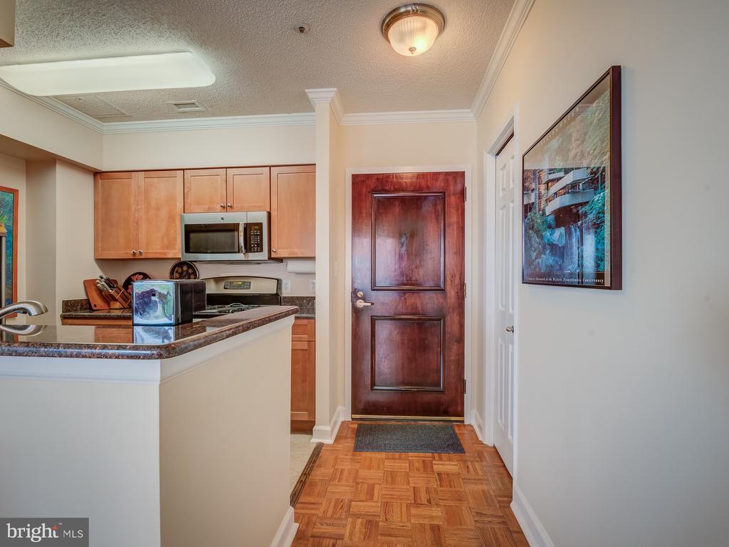 Entryway - 4801 FAIRMONT AVE #902, BETHESDA