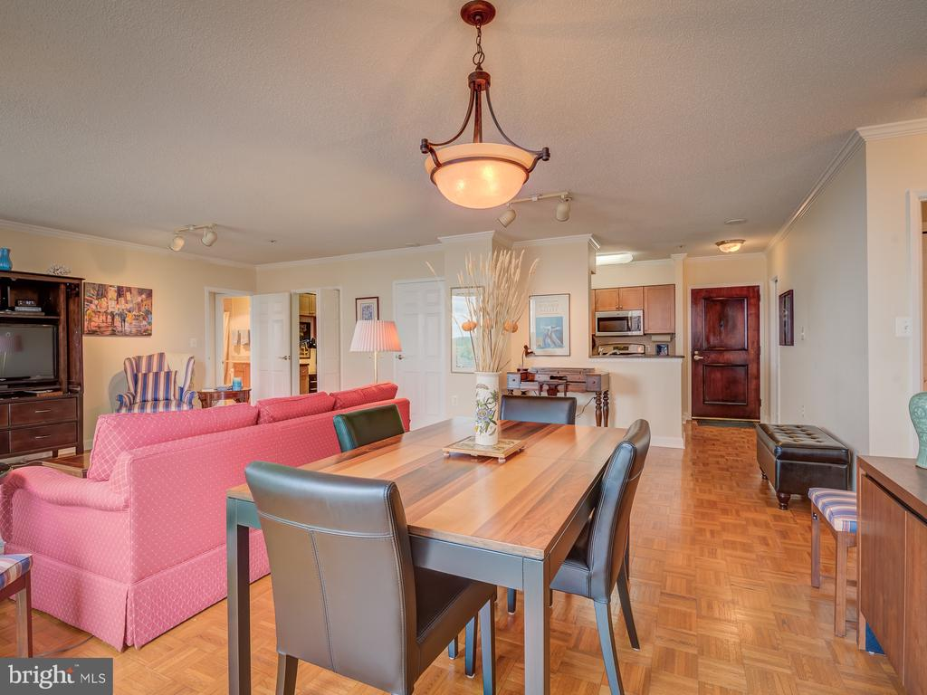 Dining room - 4801 FAIRMONT AVE #902, BETHESDA