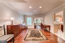Original dining room offers multiple opportunities - 7804 WINDY POINT CT, SPRINGFIELD