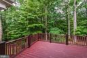 Party in privacy in your wooded oasis - 7804 WINDY POINT CT, SPRINGFIELD