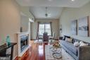 High ceilings, beautiful hardwood floors - 1645 INTERNATIONAL DR #407, MCLEAN