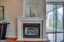 Gas fireplace - 1645 INTERNATIONAL DR #407, MCLEAN