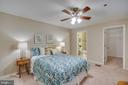 Owners suite with large walk-in closet - 1645 INTERNATIONAL DR #407, MCLEAN