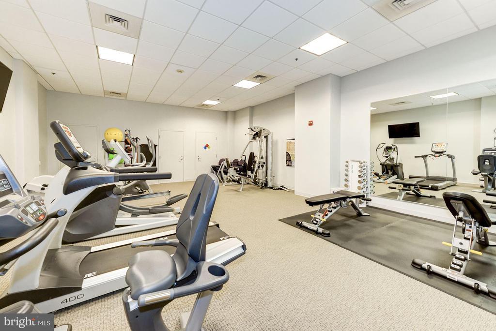 Fitness Center - 675 E ST NW #350, WASHINGTON