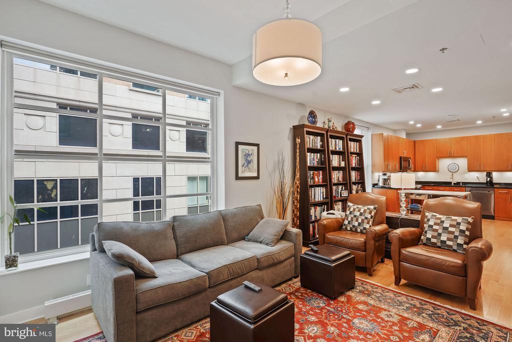 Living Room - 675 E ST NW #350, WASHINGTON