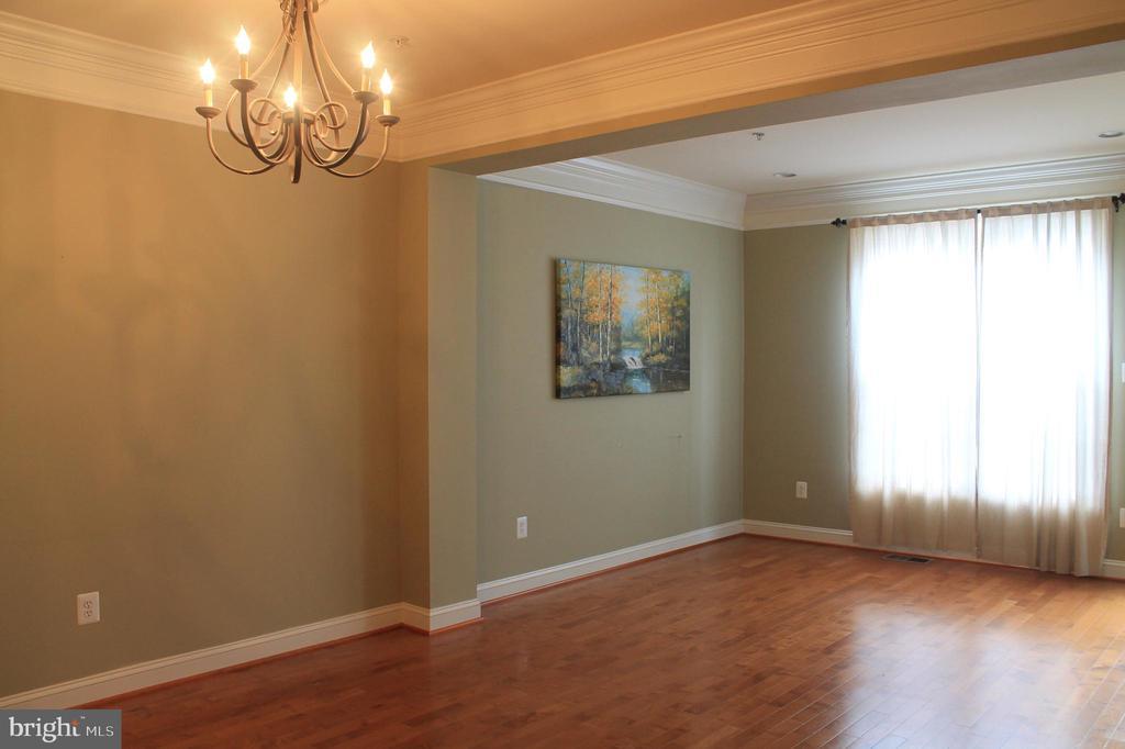 Dining & Living room - 605 RAVEN AVE, GAITHERSBURG