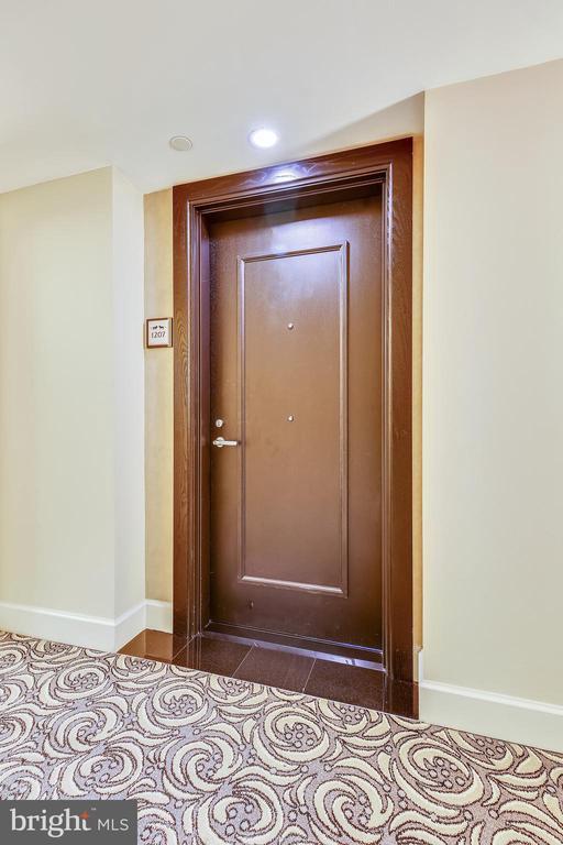 Entrance to Unit 1207 - 7710 WOODMONT AVE #1207, BETHESDA