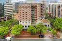 View From Fench Balcony - 7710 WOODMONT AVE #1207, BETHESDA