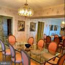 Dining room - 1300 CRYSTAL DR #1306S, ARLINGTON