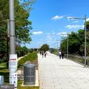 Walking path - 1300 CRYSTAL DR #1306S, ARLINGTON