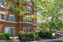 Patio and Entrance - 3611 38TH ST NW #101, WASHINGTON