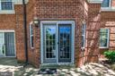 Private Entrance and Patio - 3611 38TH ST NW #101, WASHINGTON