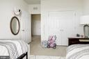 Large closet in bedroom 3 - 43779 KINGSTON STATION TER, ASHBURN