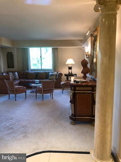 View in the Living Room - 5809 NICHOLSON LN #409, NORTH BETHESDA