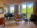 View in the Den from the Living Room - 5809 NICHOLSON LN #409, NORTH BETHESDA