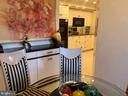 Breakfast Room with view into Kitchen - 5809 NICHOLSON LN #409, NORTH BETHESDA