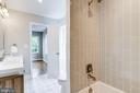 Jack and Jill bathroom - 108 N PAYNE ST, ALEXANDRIA