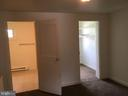 112 Den looking in to Full Bath and Walk In Closet - 108, 110, 112 ICE ST, FREDERICK
