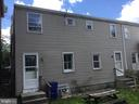 Rear Exterior - 108, 110, 112 ICE ST, FREDERICK