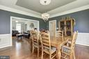 Large dining with bay window - 4 BRANNIGAN DR, STAFFORD