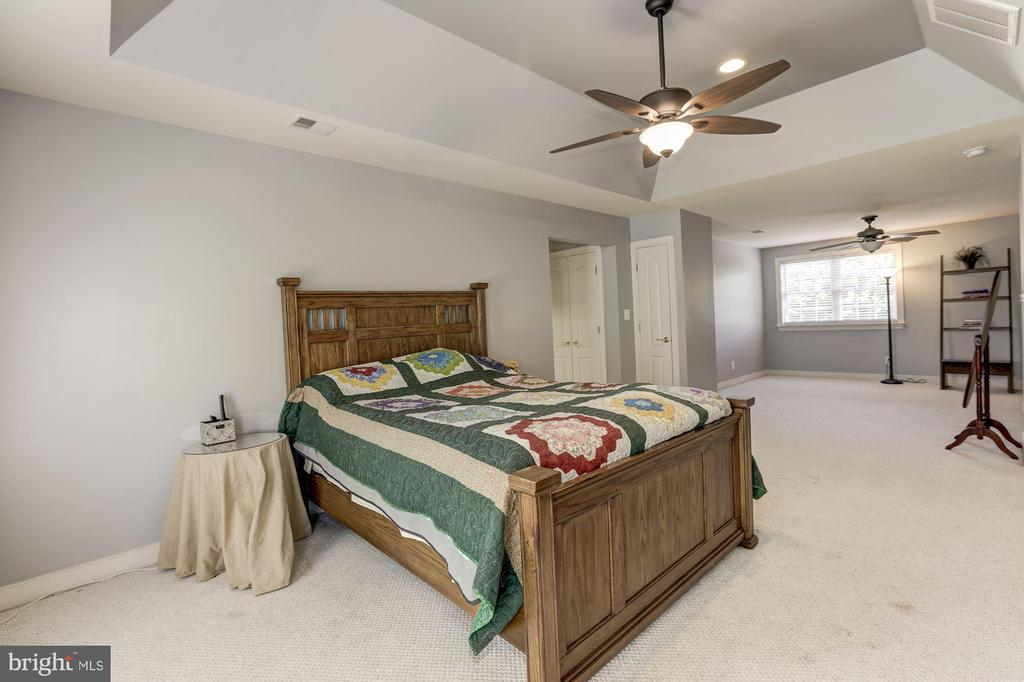 Large owners suite  w/ sitting area - 4 BRANNIGAN DR, STAFFORD