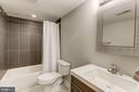 Newly built basement bath - 4 BRANNIGAN DR, STAFFORD