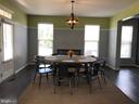 Formal Dining, Engineered Hardwoods, Trim, 16'x14' - 112 FREESIA LN, STAFFORD