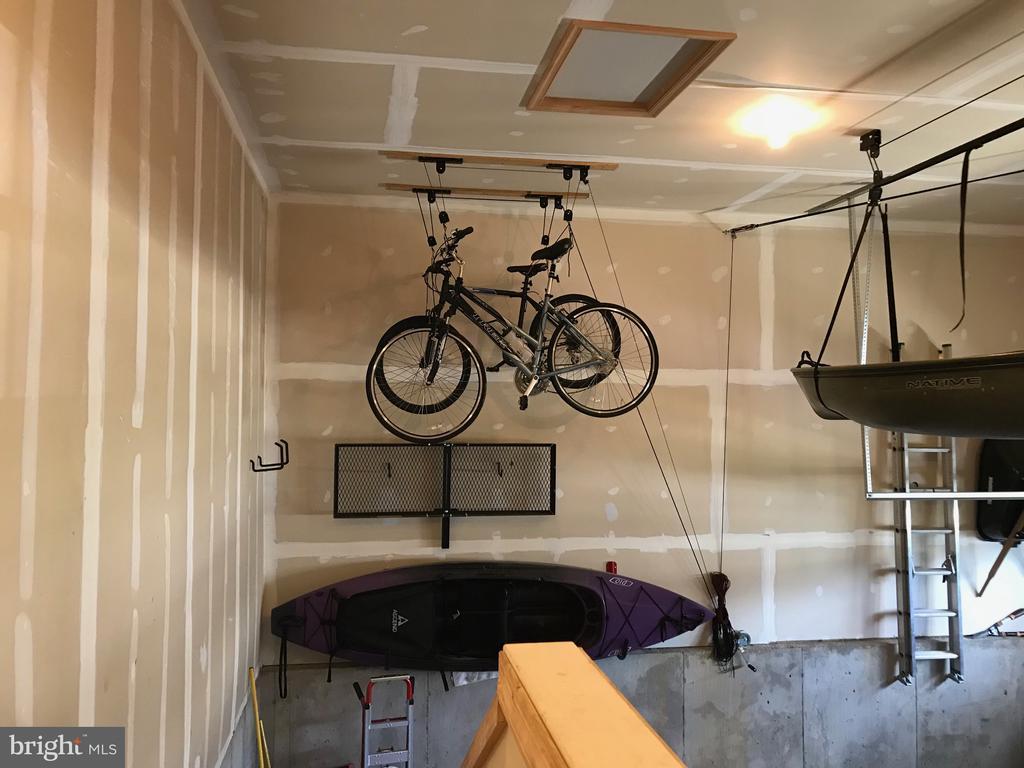 Bike & canoe storage racks (racks convey) - 112 FREESIA LN, STAFFORD