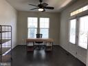 Office, ceiling fan, 16' x 11' addt'l entrance - 112 FREESIA LN, STAFFORD