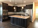 Gourmet Kitchen w/island, storage  & Granite Tops - 112 FREESIA LN, STAFFORD