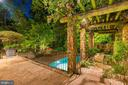 Pergola & Pool - 8417 BROOKEWOOD CT, MCLEAN