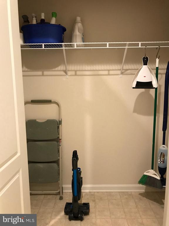 Utility Closet - 112 FREESIA LN, STAFFORD