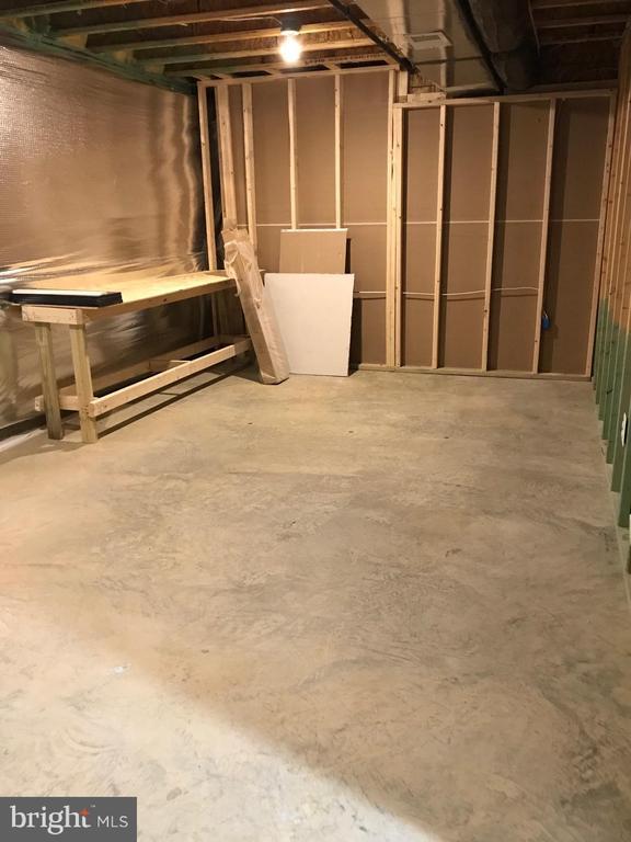 Unfin Storage Room - 18' x 11' - 112 FREESIA LN, STAFFORD