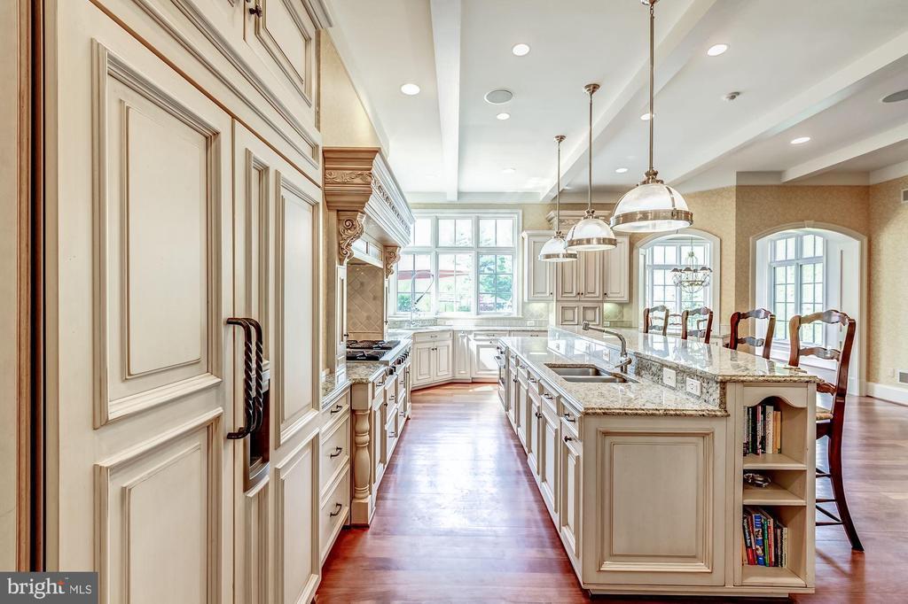 Kitchen - 606 DEERFIELD POND CT, GREAT FALLS