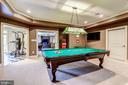 Billiards Room - 606 DEERFIELD POND CT, GREAT FALLS
