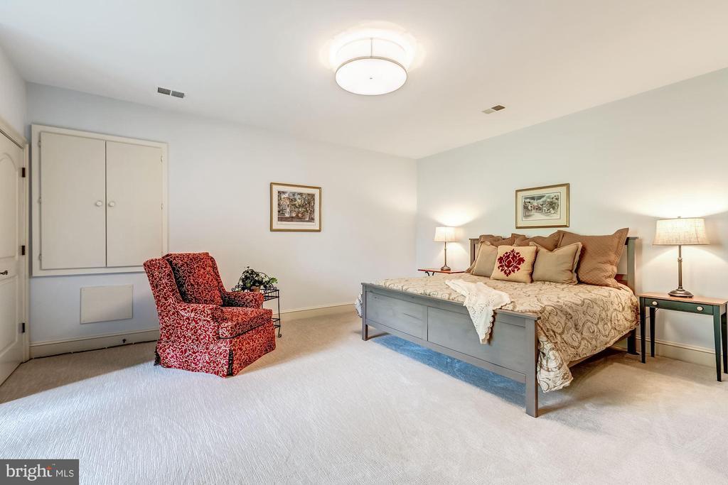 Lower Level Bedroom #5 - 606 DEERFIELD POND CT, GREAT FALLS