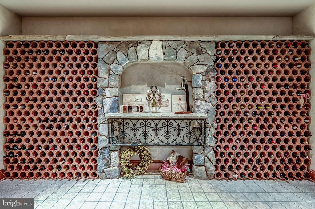 Wine Cellar - 606 DEERFIELD POND CT, GREAT FALLS