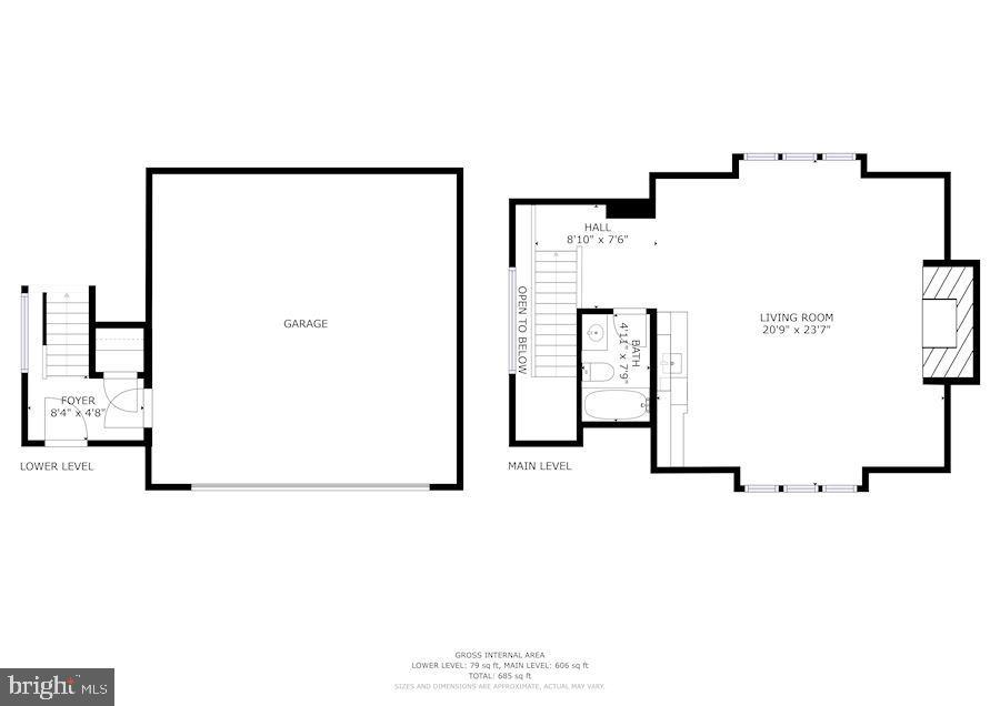 Guest House Floor Plan - 606 DEERFIELD POND CT, GREAT FALLS
