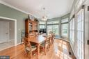 Breakfast room - 2815 GIBSON OAKS DR, HERNDON